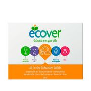 Ecover All-in-one Konetiskitabletit 25 tabl