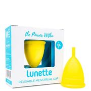 Lunette Reusable Menstrual Cup - Yellow, size 2