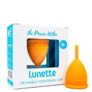 Lunette Menstrual Cup - Orange size 1