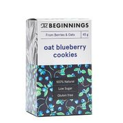 The Beginnings Oat and bilberry cookies 45g