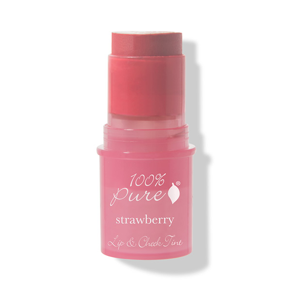 100% Pure Lip & Cheek Voidepuna Shimmery Strawberry