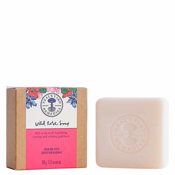 Neal's Yard Remedies Wild Rose Soap 100g