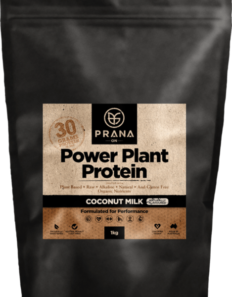 Prana On Power Plant Protein - Coconut Milk 1 KG