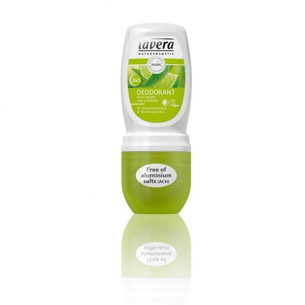 Lavera Gentle Deo Roll-on Deodorantti Lime